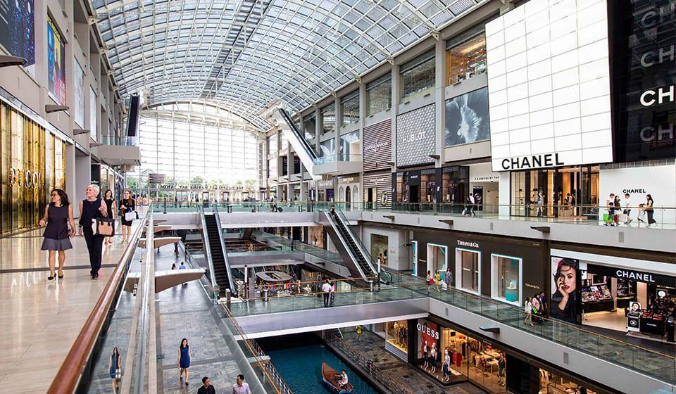 Marina Bay Sands mall