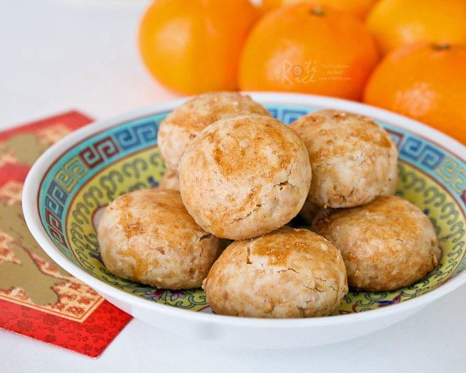 bánh quy đậu phộng là một món ăn vặt khoái ở singapore