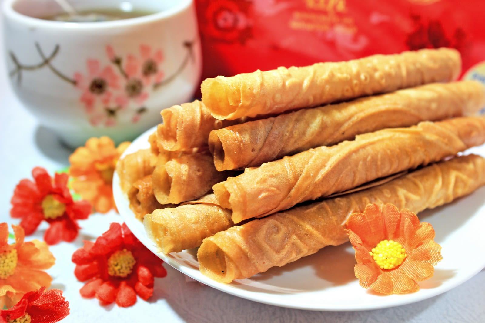 love letter wang lye là một món ăn vặt khoái ở singapore