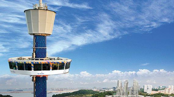 tháp tiger sky là một điểm đến thú vị ở sentosa