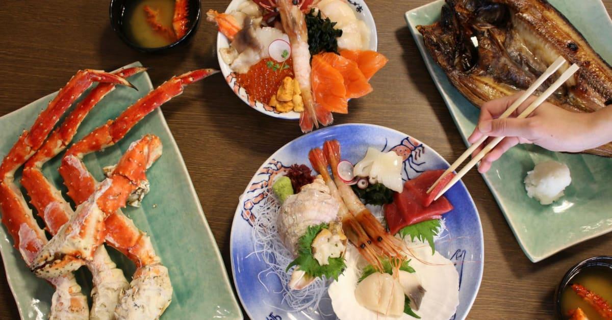 ẩm thực hokkaido phong phú và đa dạng