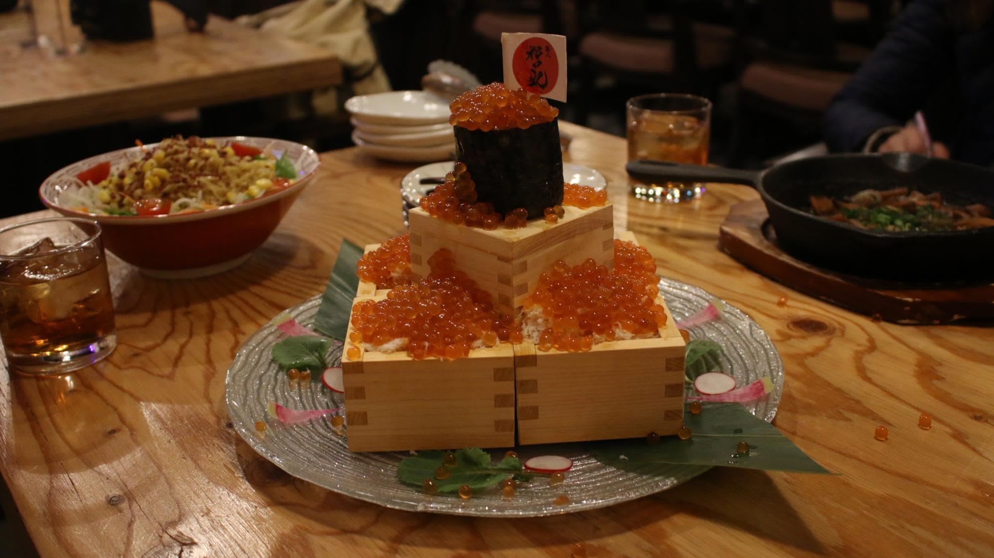 rất nhiều tinh hoa ẩm thực hokkaido tập trung tại nhà hàng Daihachi Matsuda Izayaka