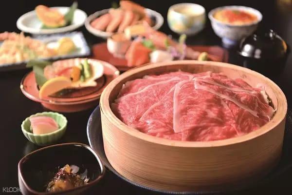 tinh hoa ẩm thực hokkaido có ở nhà hàng hanayuzen