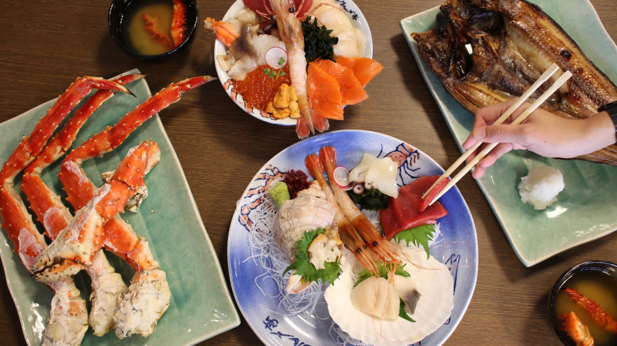 ẩm thực hokkaido nhiều màu sắc