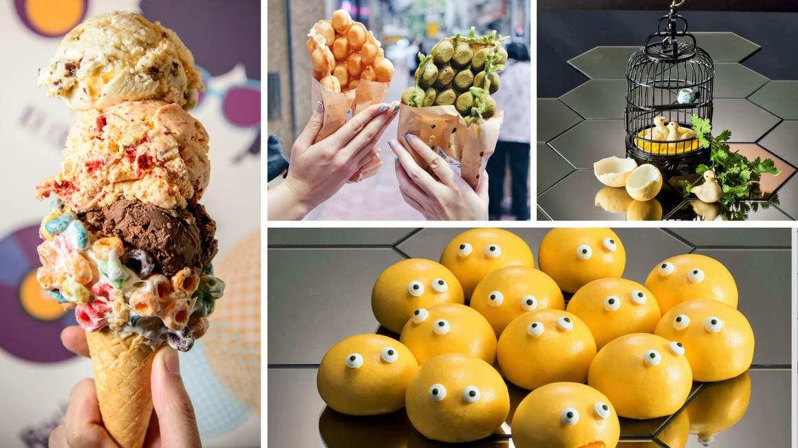 các món ăn hong kong xinh xắn