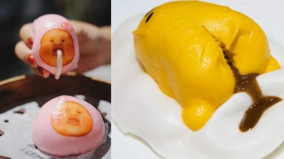 trứng lười gudetama là một món ăn hong kong rất dễ thương