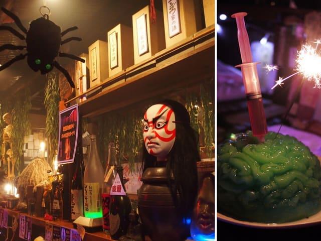 yurei izakaya là một trong 10 quán cafe ở nhật bản có phong cách độc đáo