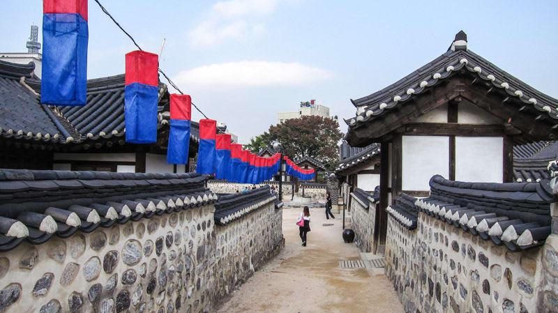 thăm làng cổ cách tháp N Seoul 30km