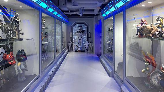 showroom SSentoy của tháp N Seoul