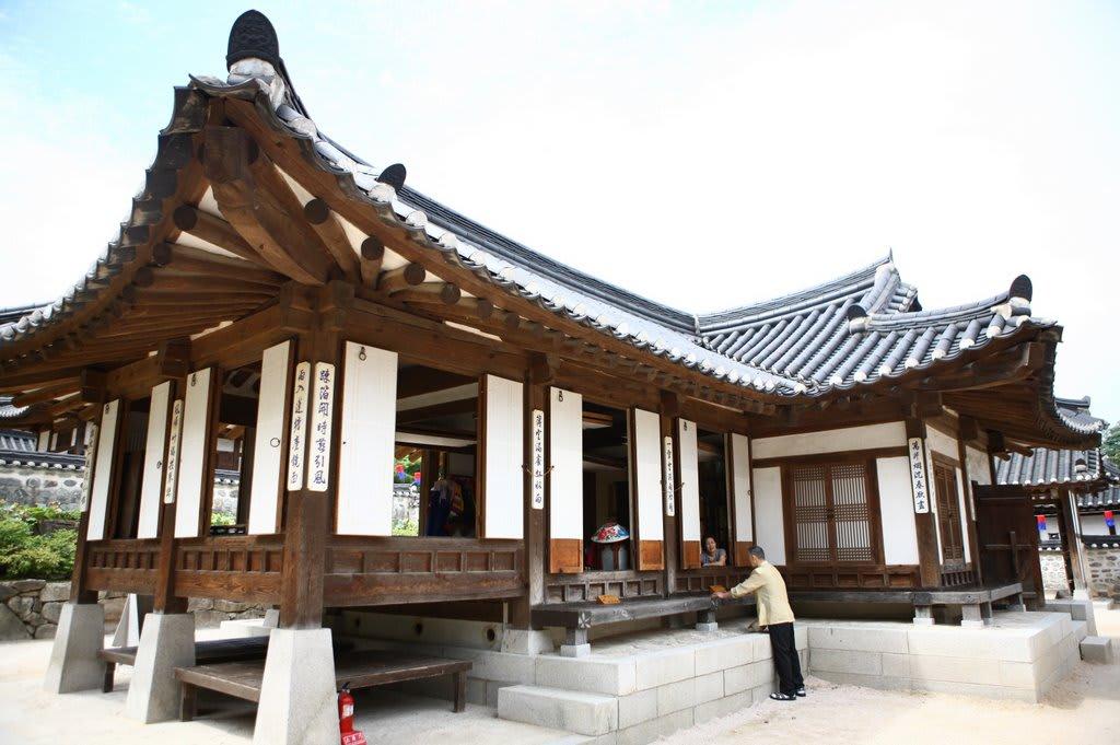 thăm làng cổ cách tháp N Seoul 30 phút đi bộ