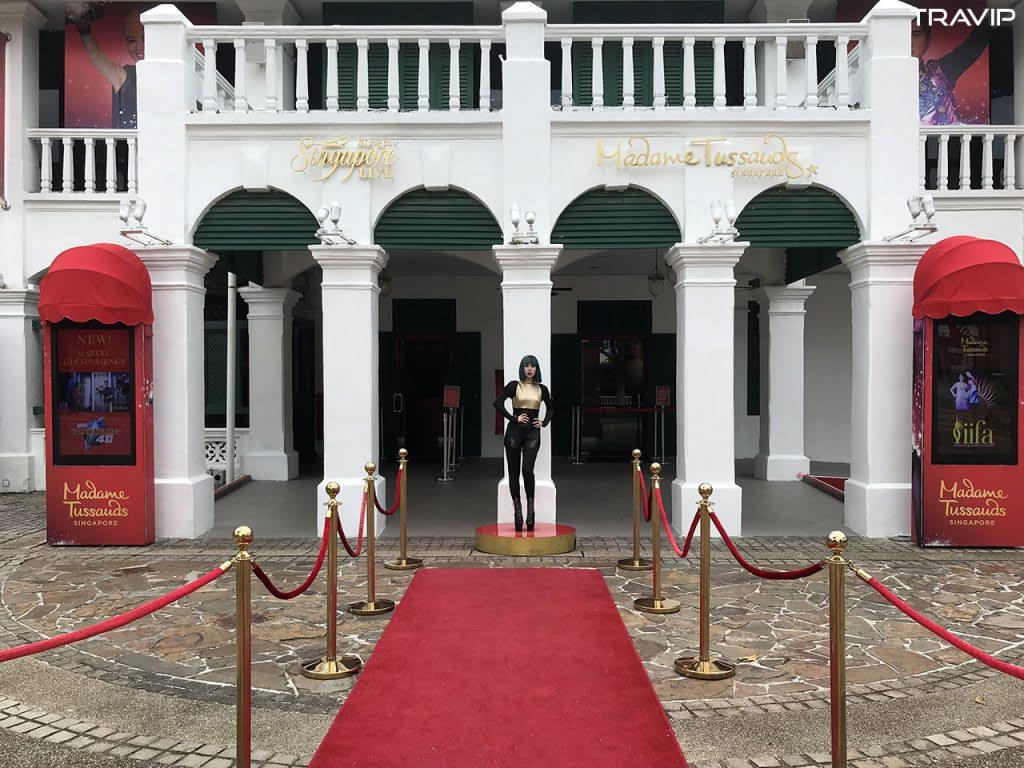 ghé madame tussauds trong lịch trình đi singapore dịp 30/4 cho nhóm bạn thân