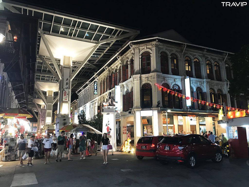 ghé china town trong lịch trình đi singapore dịp 30/4 cho nhóm bạn thân