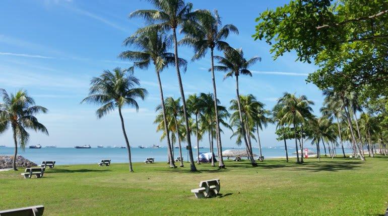 lịch trình đi singapore 4 ngày 3 đêm cho các cặp đôi: east coast park