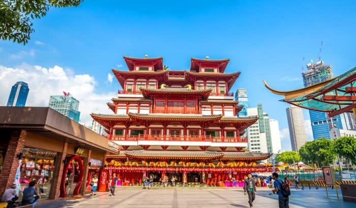 lịch trình đi singapore 4 ngày 3 đêm cho các cặp đôi: china town