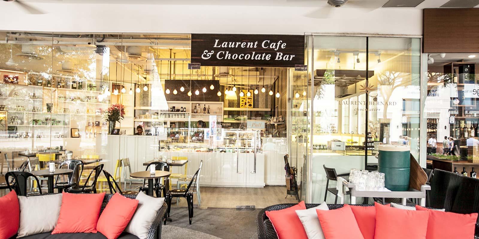 lịch trình đi singapore 4 ngày 3 đêm cho các cặp đôi: laurent cafe & chocolate bar