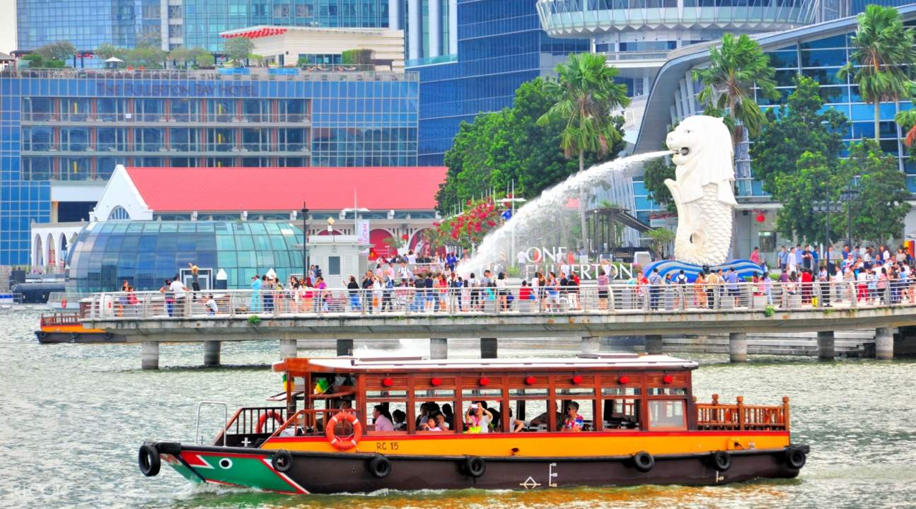 lịch trình đi singapore 4 ngày 3 đêm cho các cặp đôi: singapore river cruise