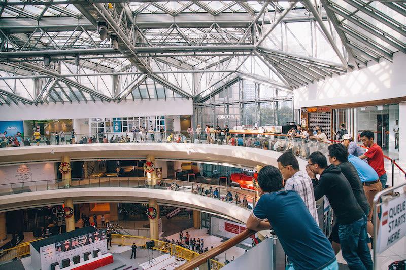 tham quan suntec city mall