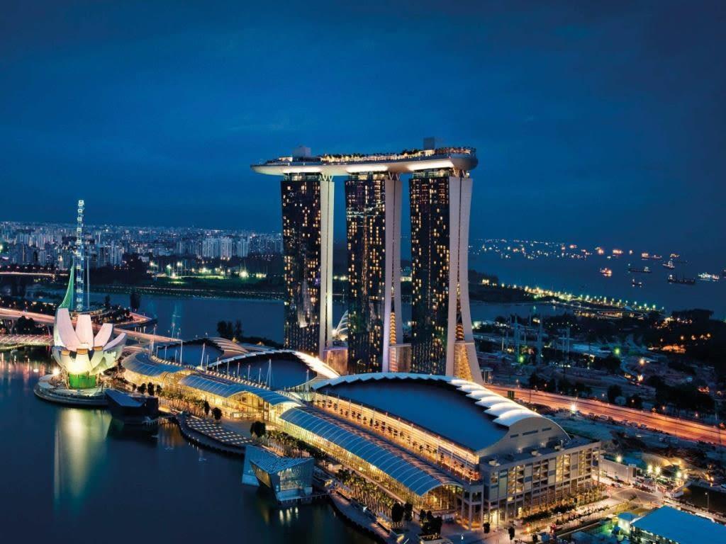 toàn cảnh marine bay sands trong lịch trình đi singapore dịp 30/4 cho gia đình