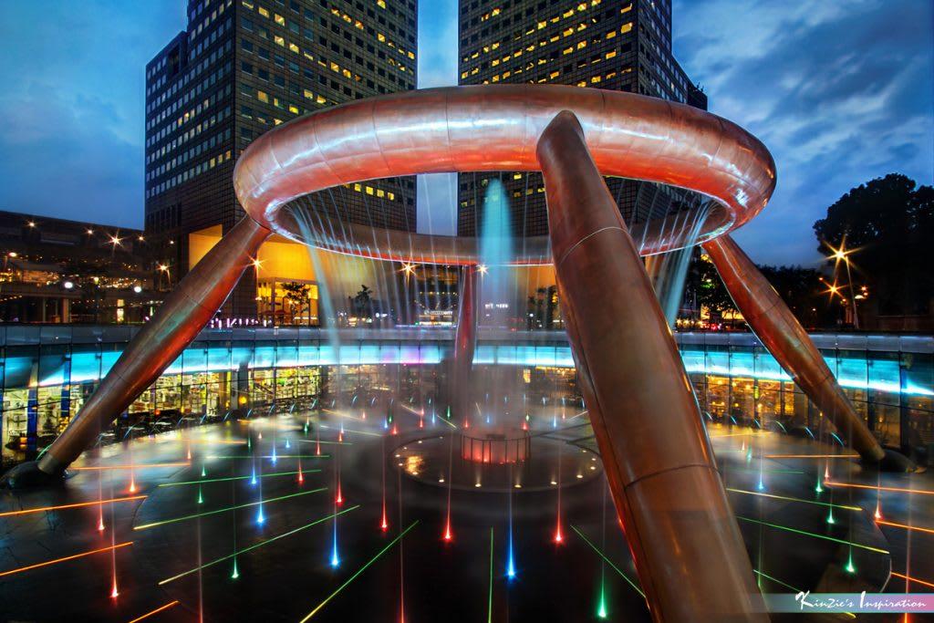 tham quan suntec city trong lịch trình đi singapore dịp 30/4 cho nhóm bạn
