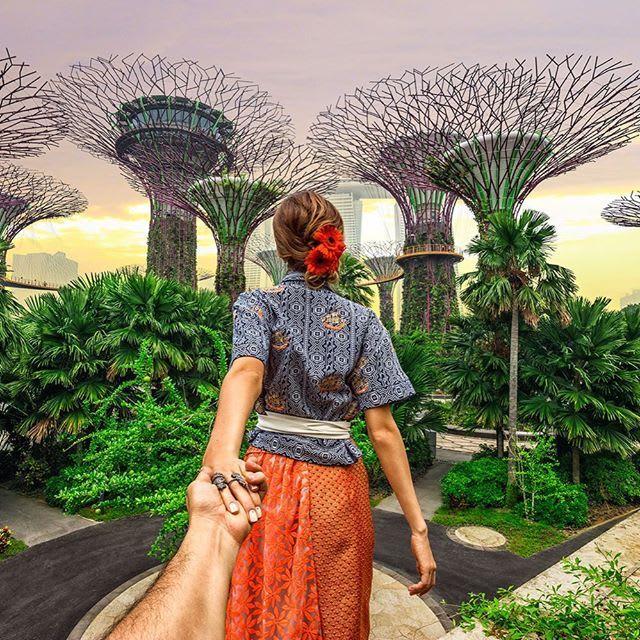tham quan gardens by the bay trong lịch trình đi singapore dịp 30/4 cho nhóm bạn