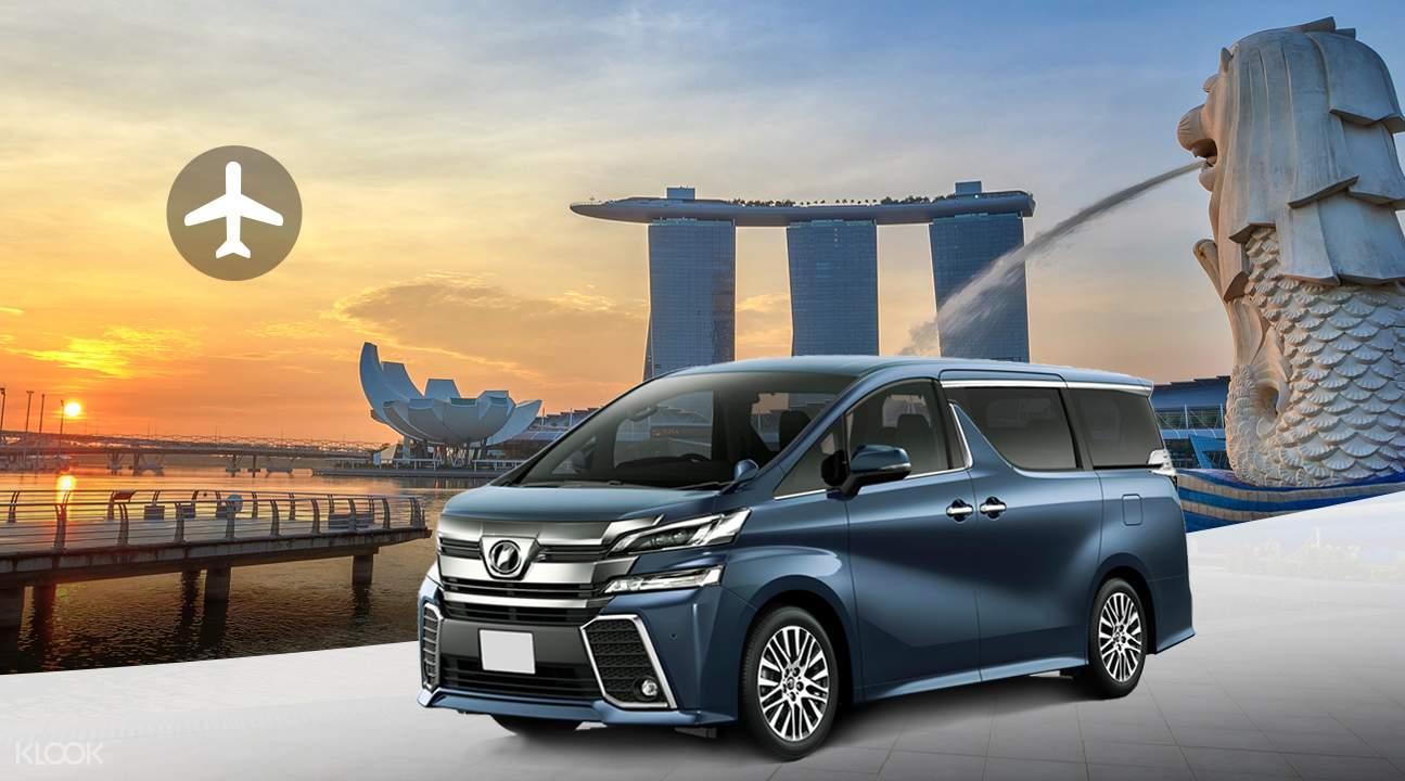 đặt dịch vụ vận chuyển từ sân bay trong lịch trình đi singapore cho nhóm bạn