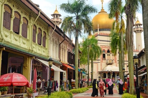 khám phá kampong glam trong lịch trình đi singapore cho nhóm bạn