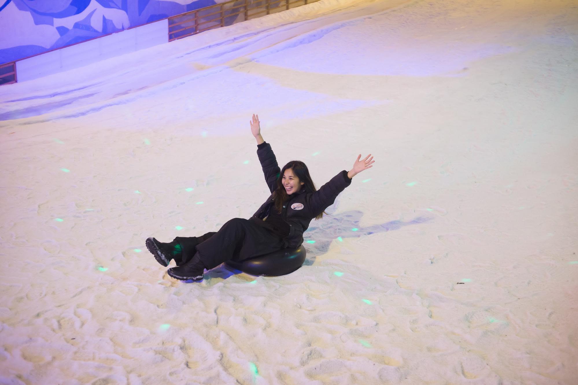 vui chơi ở snow city, phía tây singapore