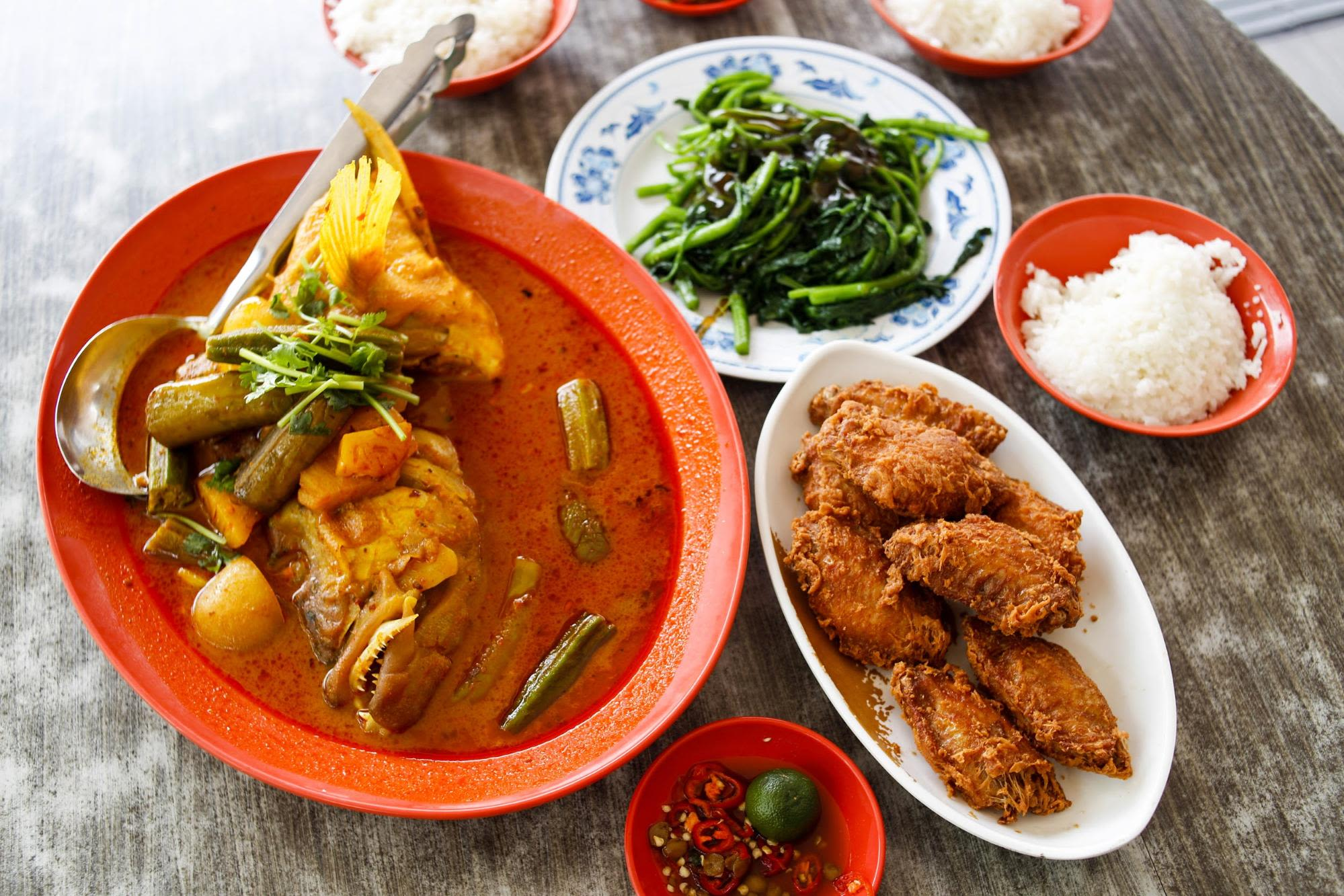 ăn trưa tại sai shun, một nhà hàng hải sản phía tây singapore