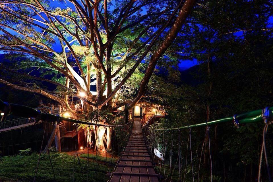 chơi tại The Giant Treehouse Cafe là một trong những bí kíp du lịch Chiang Mai tiết kiệm