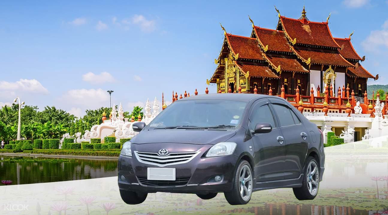 đi vòng quanh bằng xe riêng Klook là một trong những bí kíp du lịch Chiang Mai tiết kiệm