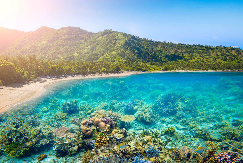 Lombok là một trong những bãi biển đông nam á rất đẹp