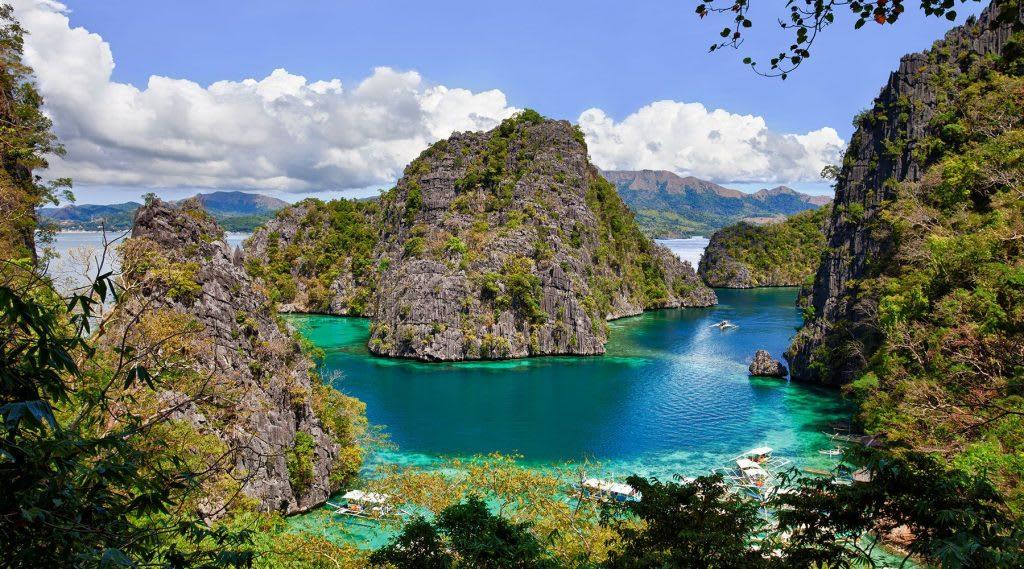 coron, palawan mà một trong những bãi biển đẹp ở philippines