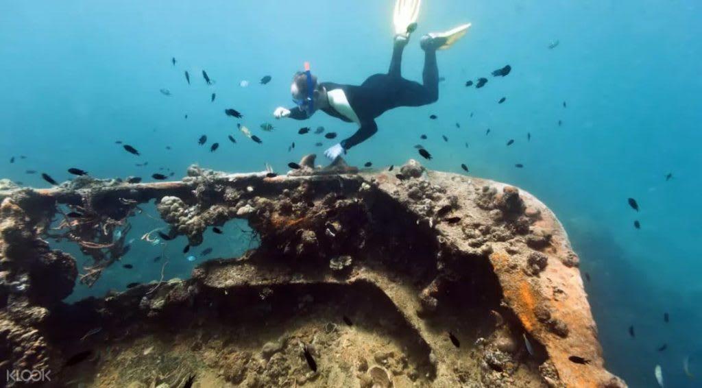 lặn và ngắm tàu đắm ở coron, palawan, một trong những bãi biển đẹp ở philippines