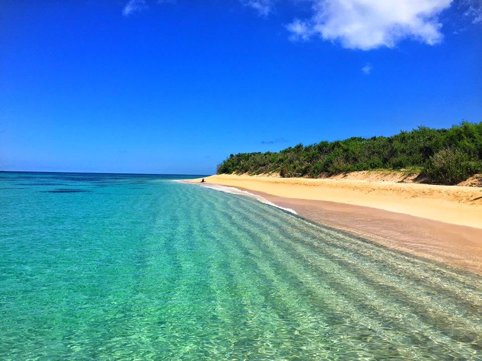 một trong những bãi biển đẹp ở philippines là jomalig