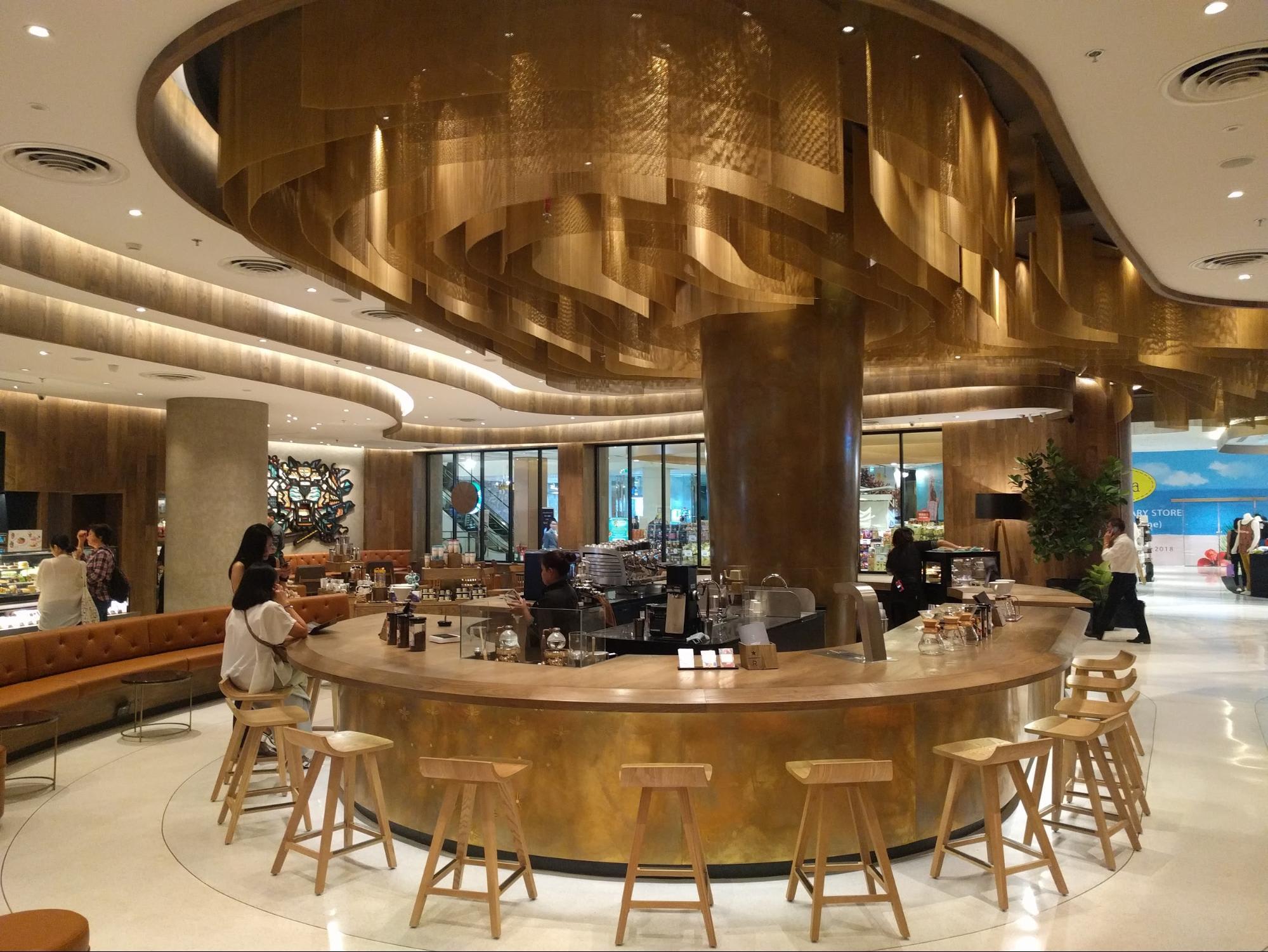 Cửa hàng Starbucks lớn thứ 2 thế giới có mặt tại CentralWorld Bangkok! 2
