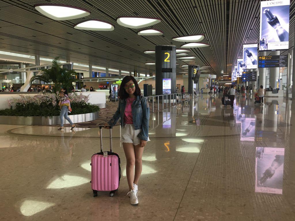 Lịch trình du lịch tự túc Singapore 4 ngày cho gia đình: sân bay changi