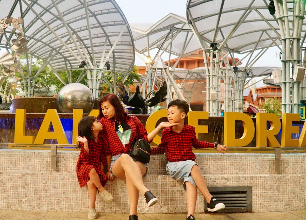 Lịch trình du lịch tự túc Singapore 4 ngày cho gia đình: vui chơi tại sentosa