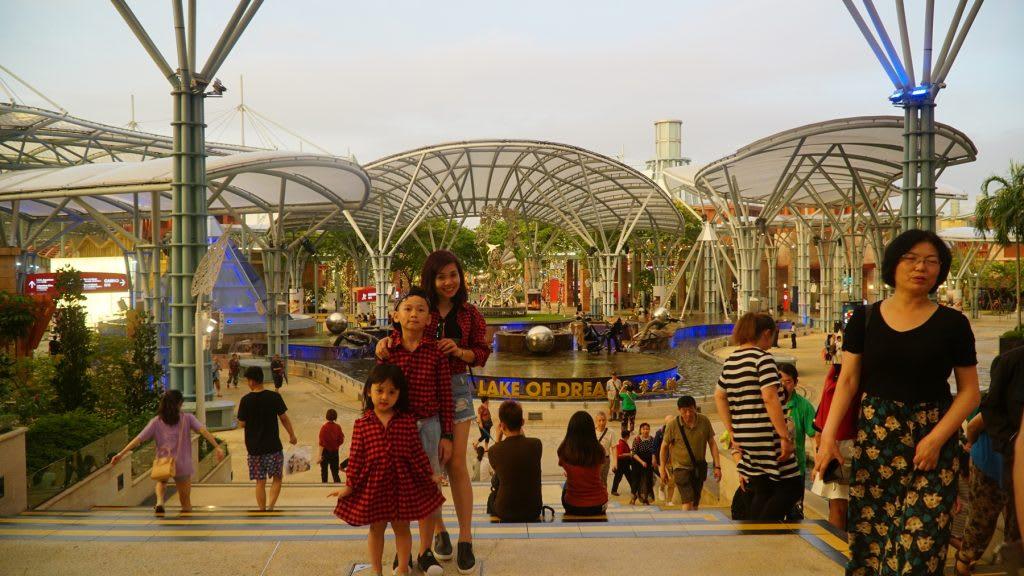 Lịch trình du lịch tự túc Singapore 4 ngày cho gia đình: sentosa fun pass