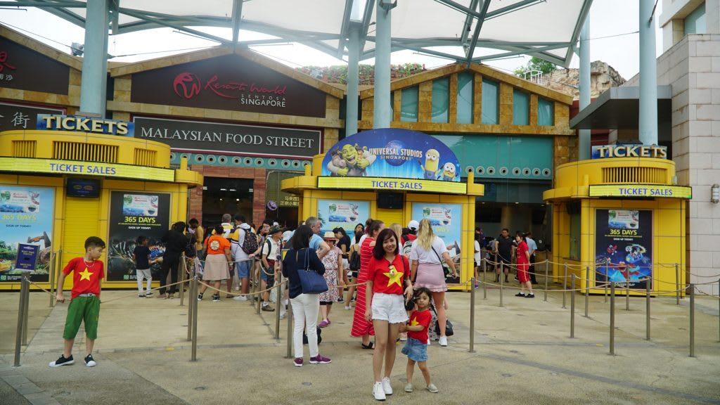Lịch trình du lịch tự túc Singapore 4 ngày cho gia đình: vui chơi tại universal studios singapore