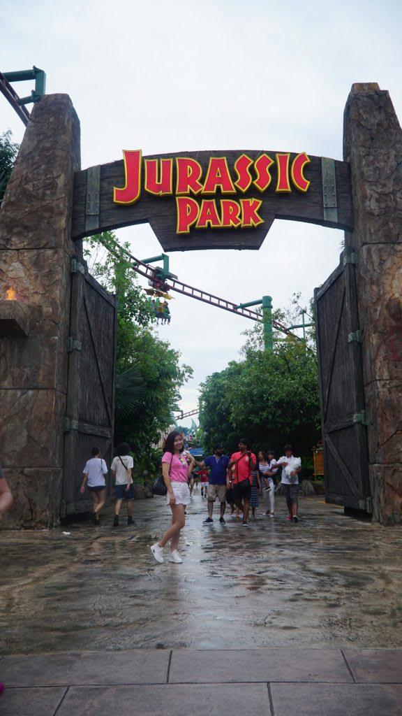 Lịch trình du lịch tự túc Singapore 4 ngày cho gia đình: jurassic park