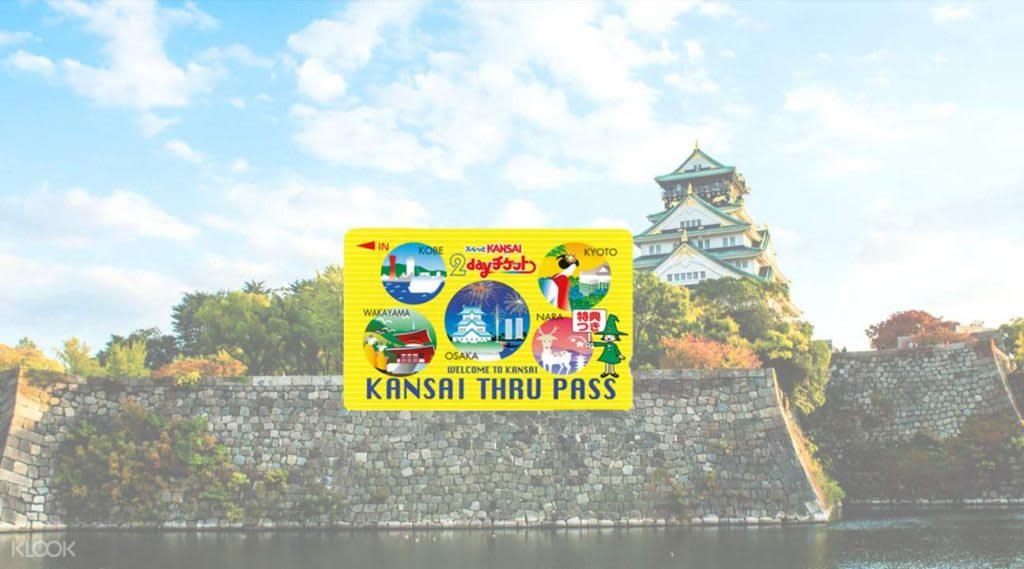 kansai thru là một trong 3 thẻ vận chuyển ở khu vực osaka
