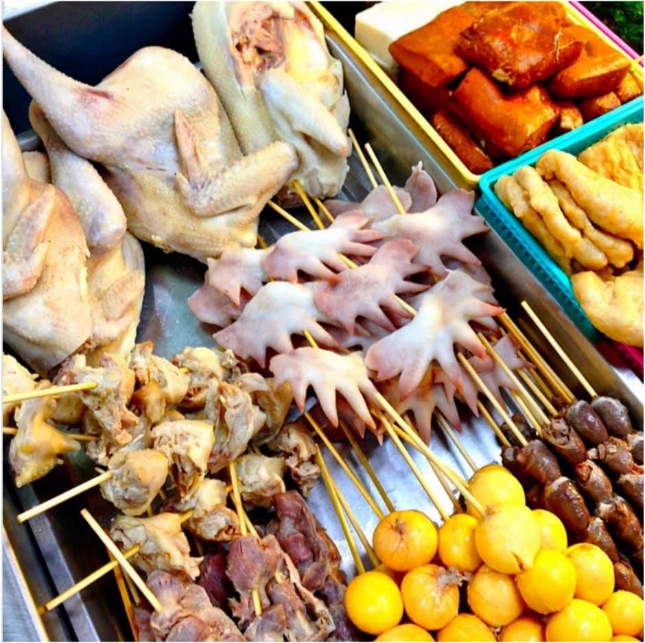 mào gà là một trong 10 món ăn kinh dị ở đài loan