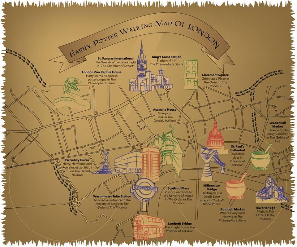 ghé phim trường harry potter, một địa điểm du lịch harry potter nổi tiếng ở london