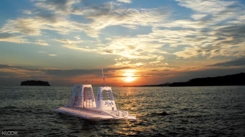 địa điểm tham quan ở đảo jeju: tàu ngầm seogwipo