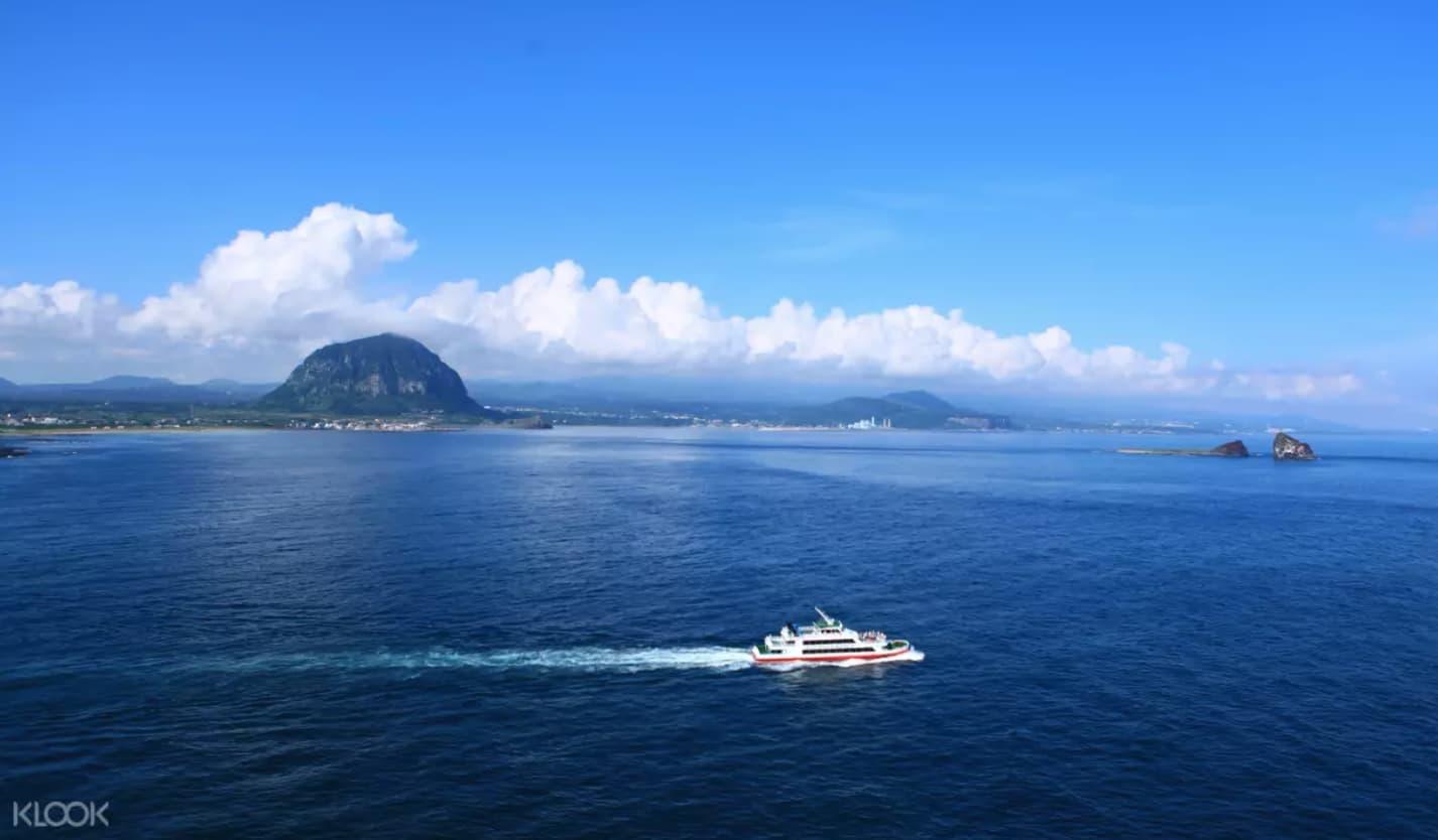địa điểm tham quan ở đảo jeju: công viên địa chất thế giới unesco sanbangsan