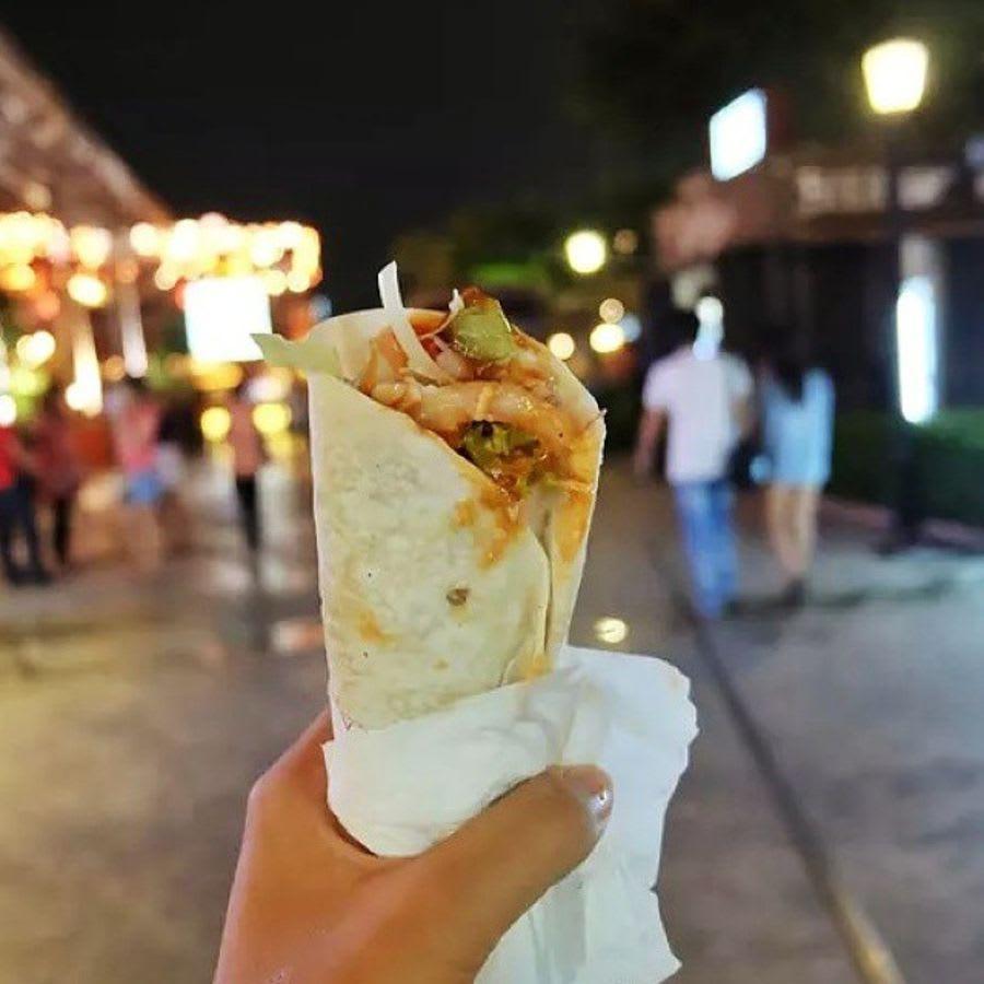 thức ăn tại asiatique the riverfront - một trong những khu chợ đường phố ở bangkok