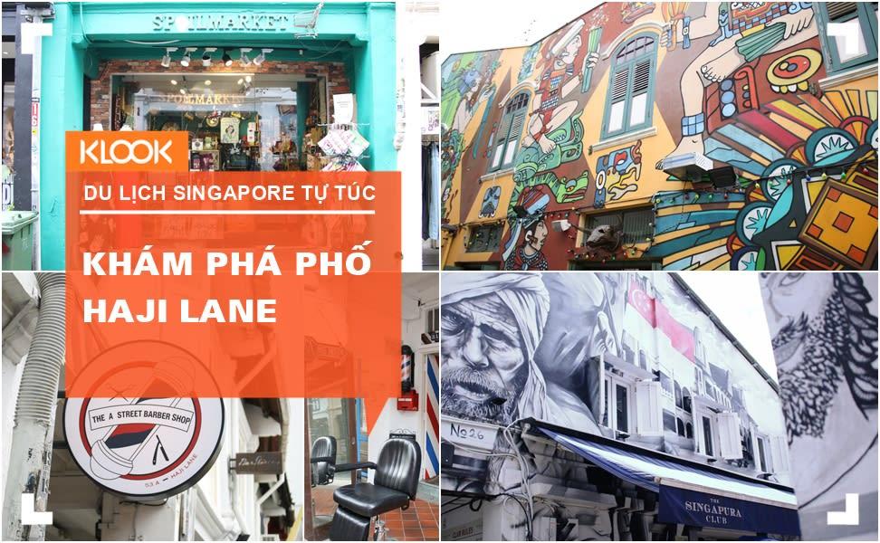 """Khám phá Haji Lane – khu phố """"chất lừ"""" ở Singapore 1"""