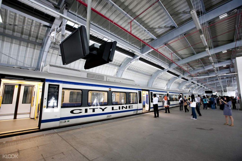 hệ thống tàu điện của Bangkok: airport rail link (ARL)