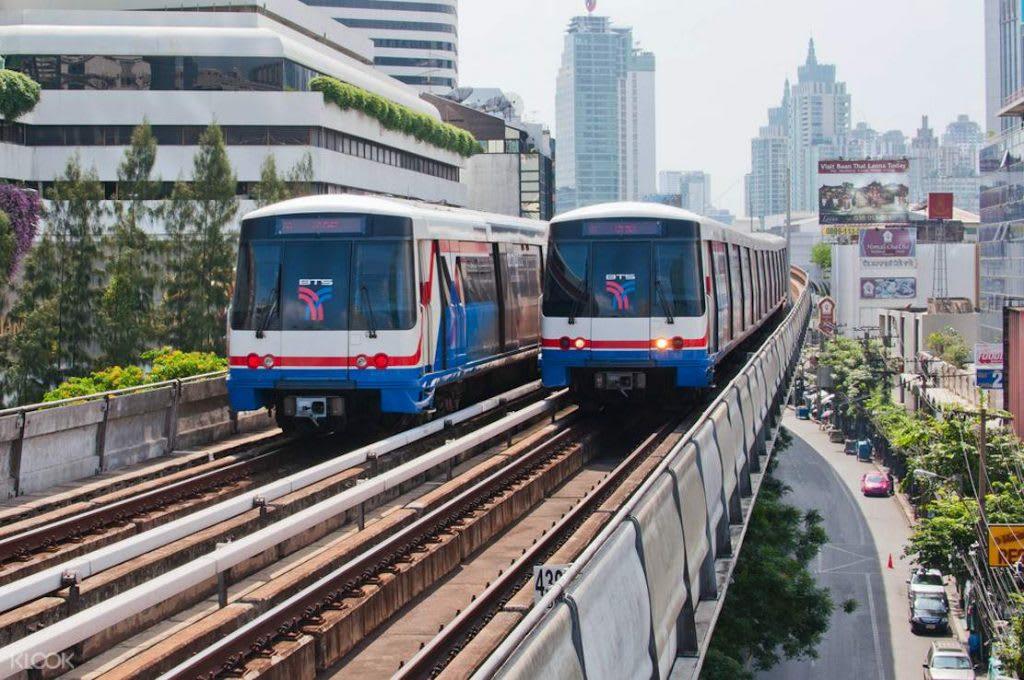 hệ thống tàu điện của Bangkok: BTS skytrain sukhumvit line