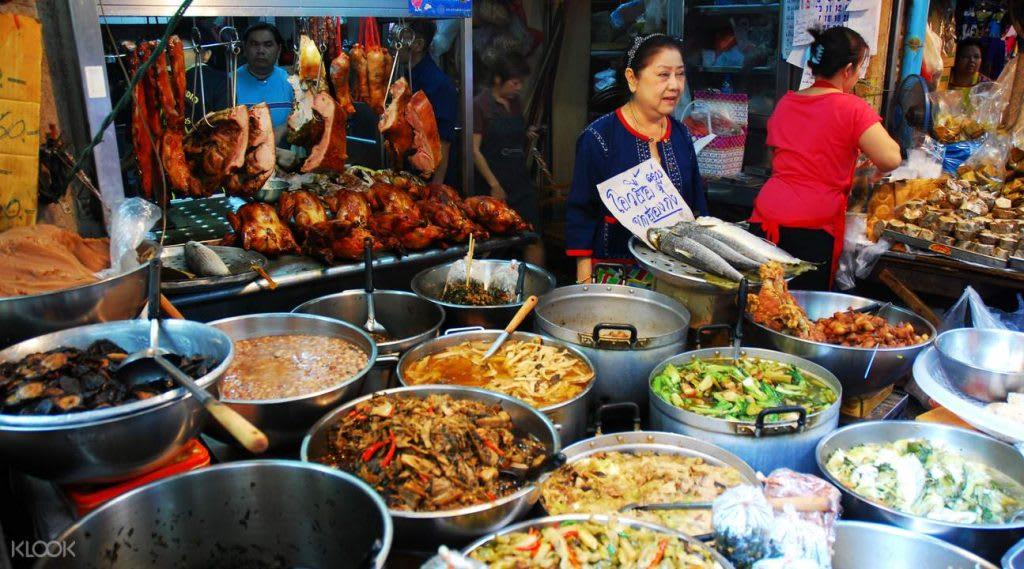hệ thống tàu điện của Bangkok: tour ẩm thực bangkok